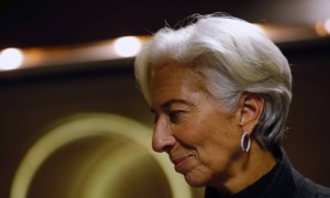 Christine Lagarde, diretora gerente do FMI - Matthew Lloyd / Bloomberg